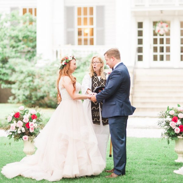 Basics of Officiating a Friend's Wedding in South Carolina