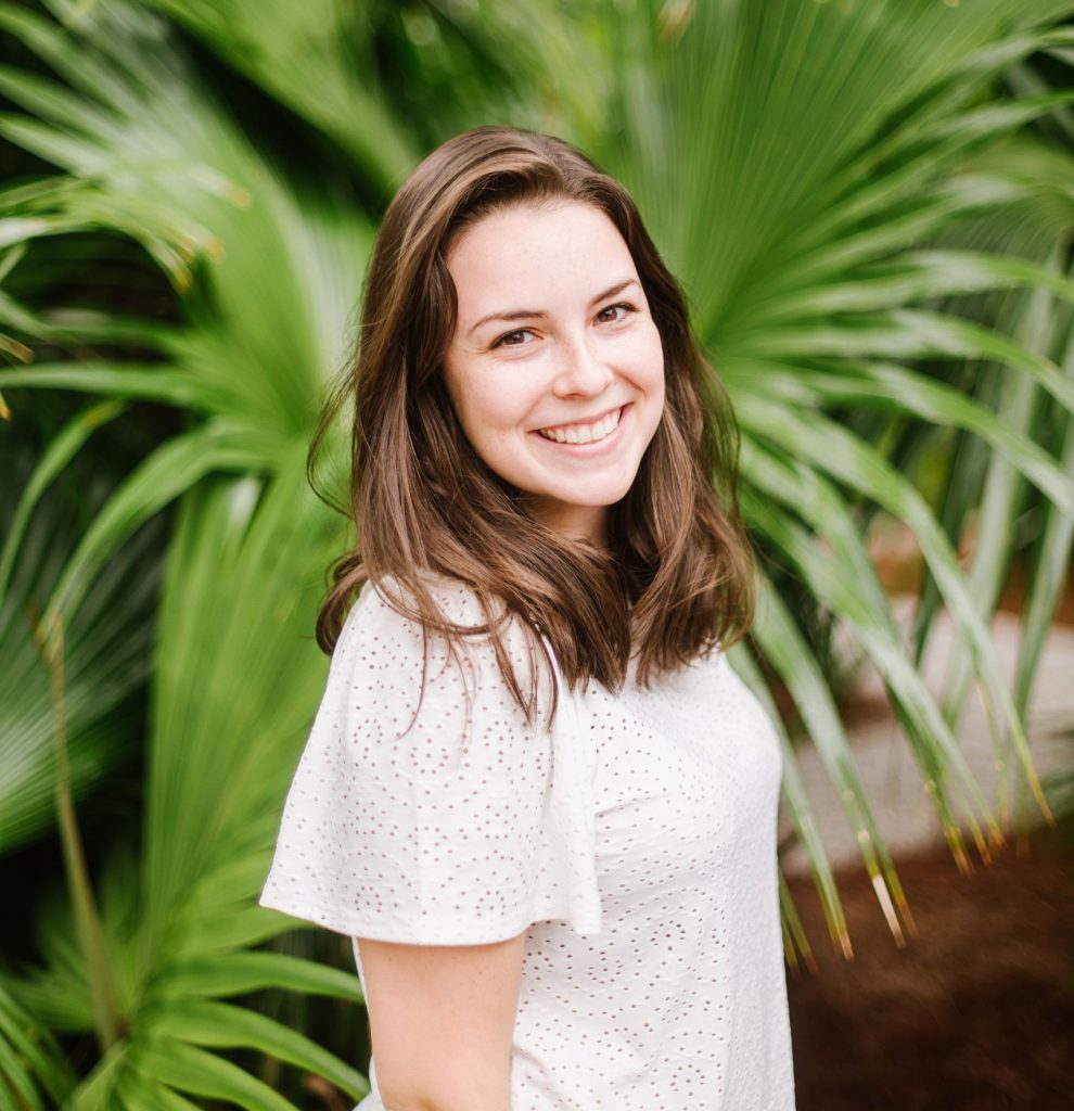 Haley Guthrie, member of a team of wedding planners in Charleston SC